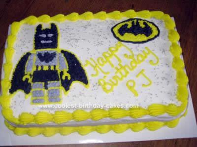 Remarkable Cool Homemade Lego Batman Birthday Cake Funny Birthday Cards Online Alyptdamsfinfo