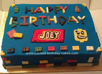 Astounding Coolest Lego Birthday Cake Funny Birthday Cards Online Barepcheapnameinfo