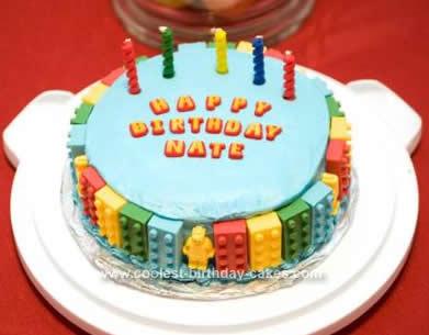 Coolest Lego Birthday Cake Idea
