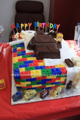O and B Lego Cake_1