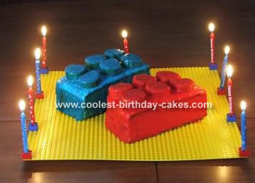 Surprising Coolest Lego Cake Funny Birthday Cards Online Barepcheapnameinfo