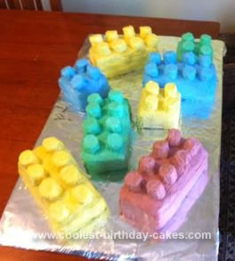 Homemade Lego Cakes for Lego Lovers