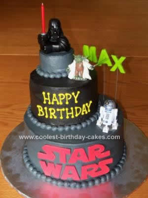 Outstanding Coolest Lego Star Wars Cake Design Funny Birthday Cards Online Eattedamsfinfo