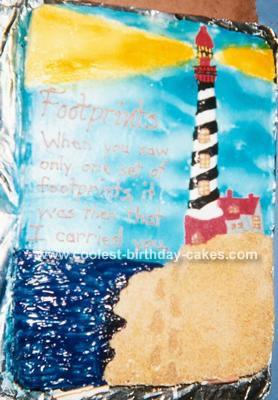 Lighthouse Cake