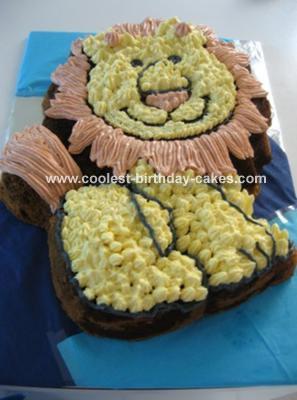 Friendly Lion Cake