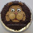 Homemade Lion Cake Design