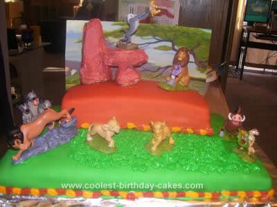 Coolest Lion King Birthday Cake