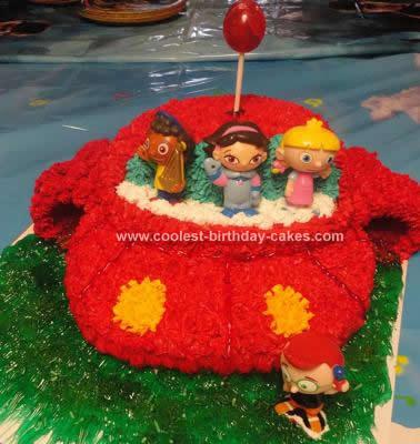 Homemade Little Einsteins Birthday Cake