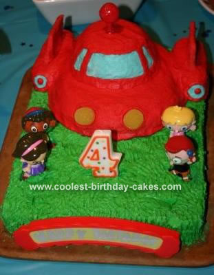 Wondrous Coolest Little Einsteins Cake Funny Birthday Cards Online Inifofree Goldxyz