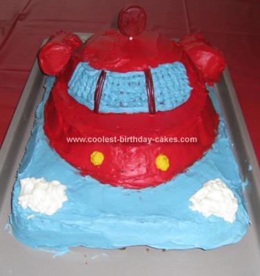 Homemade Little Einsteins Cake