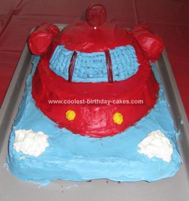 Homemade Little Einsteins Cake