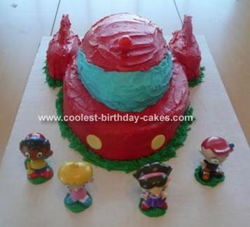 Little Einstein's Rocket Cake
