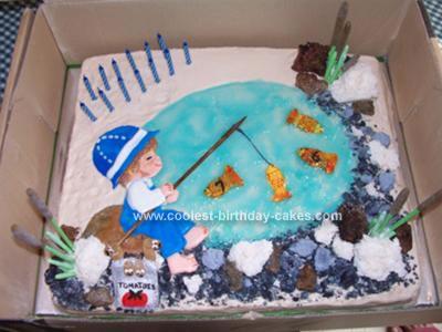 Homemade Little Fisherman Cake