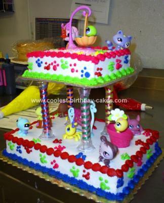 Homemade Little Girls Dream Cake