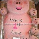 Little Piggy Cake