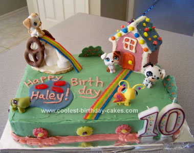 Incredible Coolest Littlest Pet Shop Birthday Cake Funny Birthday Cards Online Elaedamsfinfo