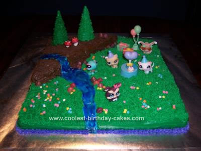 Fabulous Coolest Littlest Pet Shop Birthday Cake Funny Birthday Cards Online Elaedamsfinfo