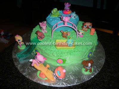 Coolest Littlest Pet Shop Birthday Cake