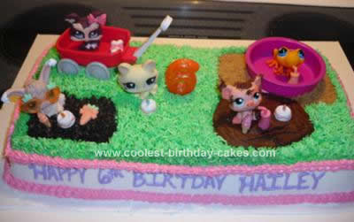 Admirable Coolest Littlest Pet Shop Birthday Cake Idea Funny Birthday Cards Online Elaedamsfinfo