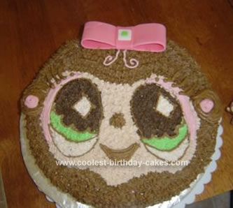Homemade Littlest Pet Shop Cake