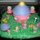Homemade Littlest Pet Shop Cake