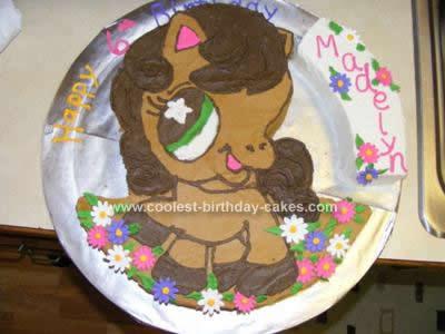 Homemade Littlest PetShop  Birthday Cake