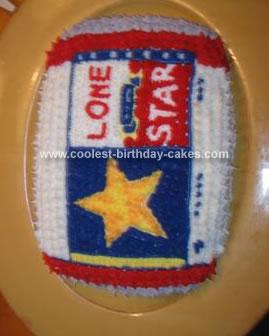 Homemade Lone Star Beer Cake