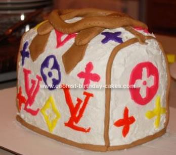 Homemade Louis Vuitton Cake