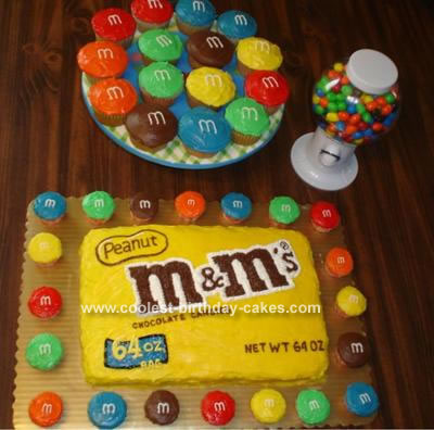 M & M's Cake