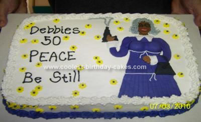 Madea 50th Birthday Cake