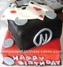 Homemade Magic Birthday Cake