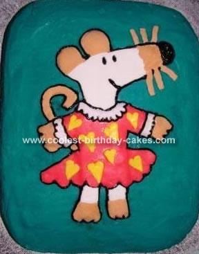 Maisy Mouse Cake