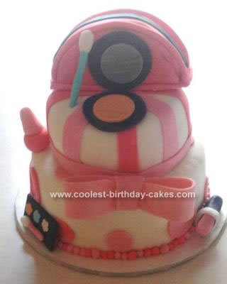 Homemade Make Up Cake