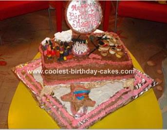 Make Up  Table Cake