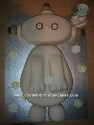 Homemade Makka Pakka Birthday Cake