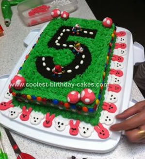 Stupendous Coolest Mario 5Th Birthday Cake Funny Birthday Cards Online Bapapcheapnameinfo