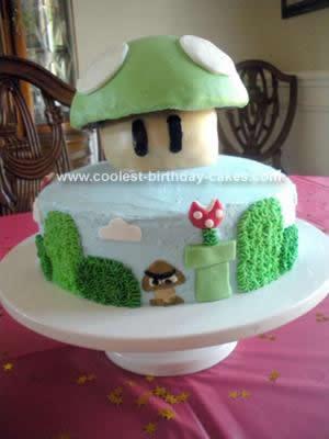 Homemade Mario Cake