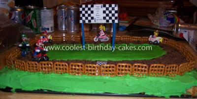 Mario Karts Cake