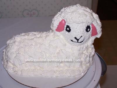 Miraculous Coolest Homemade Lamb Sheep All Cakes Funny Birthday Cards Online Benoljebrpdamsfinfo