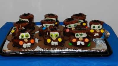 Homemade Mater Birthday Cupcakes