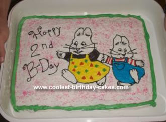 Homemade Max and Ruby Cake