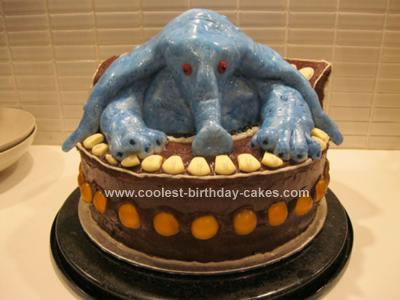 Awesome Coolest Max Rebo From Star Wars Birthday Cake Personalised Birthday Cards Paralily Jamesorg