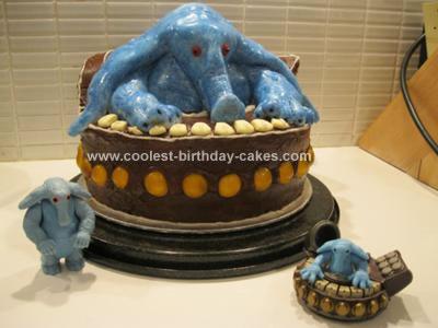Max Rebo from Star Wars Birthday Cake