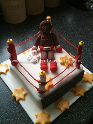 Coolest Mayweather Boxing Cake