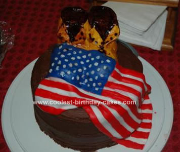 Homemade Memorial Day Cake