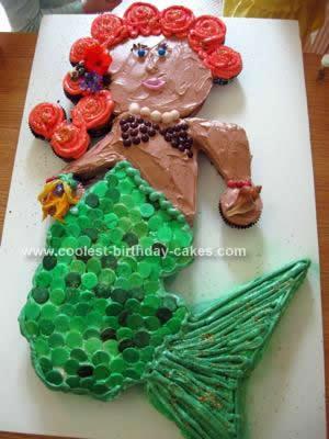 Coolest Mermaid Birthday Cake Design