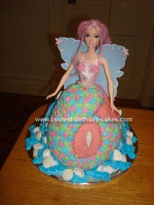 Homemade Mermaid Cake