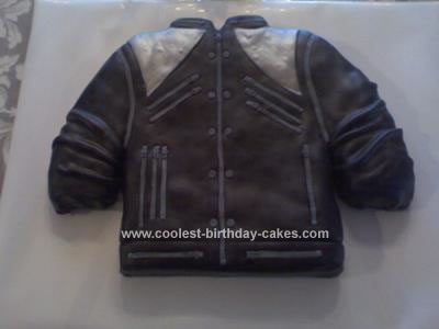 Homemade Michael Jackson Beat It Jacket Cake