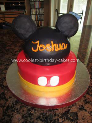 Coolest Mickey Cake