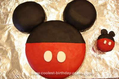 Awe Inspiring Coolest Mickey Mouse Birthday Cake Design Personalised Birthday Cards Paralily Jamesorg